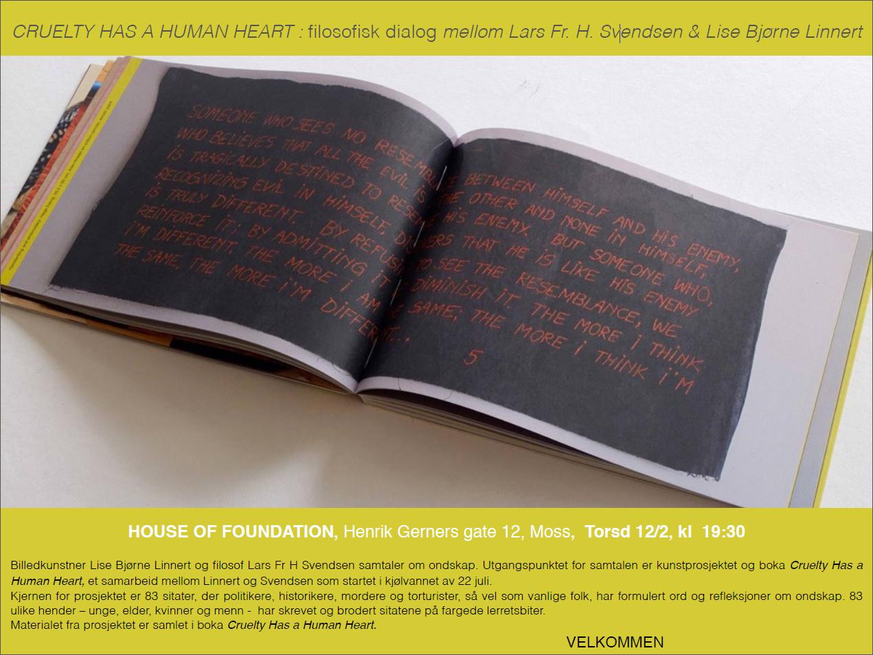 Invitasjon House of Foundation